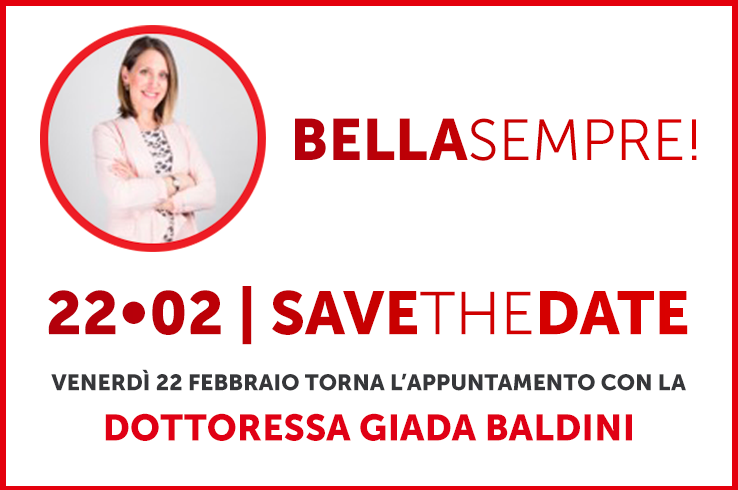 "Save the Date • Torna l'appuntamento con ""Bella Sempre!"""
