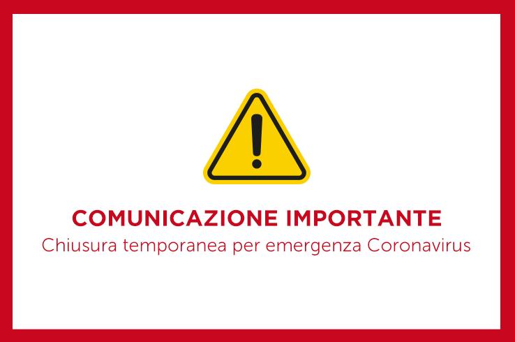 Comunicazione importante • Coronavirus